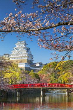 JAP0831AW Himeji Castle (UNESCO World Heritage site), Himeji, Kansai, Honshu, Japan