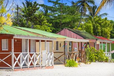 DM01361 Dominican Republic, Punta Cana, Parque Nacional del Este, Saona Island, Mano Juan, a picturesque fishing village