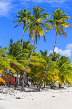 DM01365 Dominican Republic, Punta Cana, Parque Nacional del Este, Saona Island, Mano Juan, a picturesque fishing village