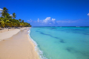 DM01370 Dominican Republic, Punta Cana, Parque Nacional del Este, Saona Island, Catuano Beach