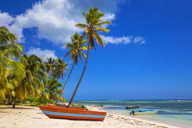 DM01376 Dominican Republic, Punta Cana, Parque Nacional del Este, Saona Island, Mano Juan, a picturesque fishing village