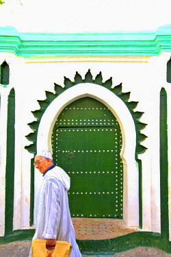 MC03178 Doorway That Inspired Matisse, Tangier, Morocco, North Africa