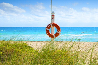 US11741 Florida, Surfside, Miami Beach, North Miami Beach, Lifeguard Buoy