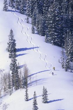 AR3063200009 Skiing at The Canyons, Park City, Utah