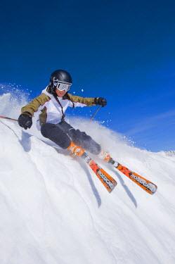 AR3063200133 Skiing at Snowbird, Utah