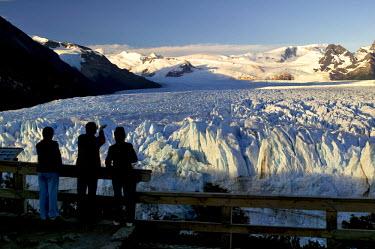 HMS0208706 Argentina, Patagonia, Santa Cruz Province, Los Glaciares National Park listed as a World Heritage by UNESCO, El Calafate, Perito Moreno Glacier