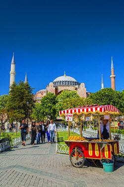 TUR0333AW Hagia Sophia, Sultanahmet, Istanbul, Turkey