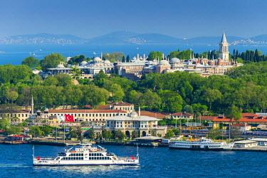 TUR0342AW Topkapi Palace, Istanbul, Turkey
