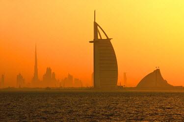 UAE0327AW Burj al Arab Hotel, Dubai, United Arab Emirates, Asia