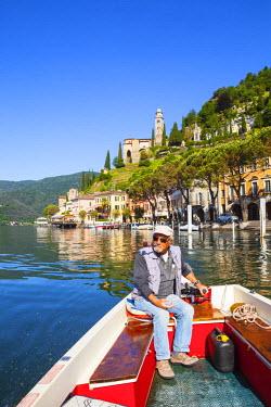CH04127 The idyllic lakeside village of Vico Morcote, Lake Lugano, Ticino, Switzerland