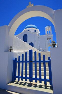 GRE0998AW Agios Ioannis Church, Prodromos, Ano Mera, Folegandros, Cyclades, Greece
