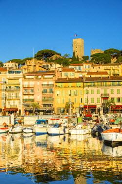 FR02628 Le Vieux Port, Cannes, Alpes-Maritimes, Provence-Alpes-Cote D'Azur, French Riviera, France