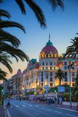 FR02801 Le Negresco Hotel, Promenade des Anglais, Nice, Alpes-Maritimes, Provence-Alpes-Cote D'Azur, French Riviera, France