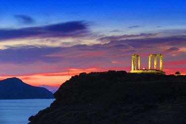 GR01376 Greece, Attica, Cape Sounion, Temple of Poseidon