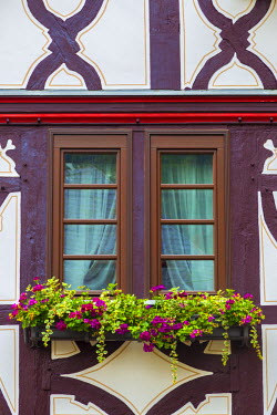DE05712 Germany, Rhineland Palatinate, Oberwesel, Traditional Timber-framed building