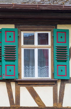 DE05713 Germany, Rhineland Palatinate, Oberwesel, Traditional Timber-framed building
