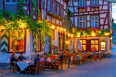 DE05751 Germany, Rhineland Palatinate, Bacharach, Altes Haus Wein Haus