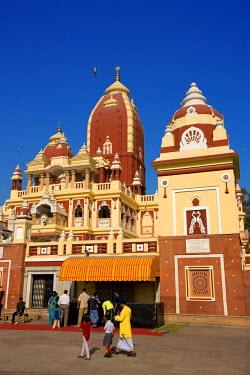 HMS0259559 India, Delhi, Laxminarayan Temple (Birla Mandir)
