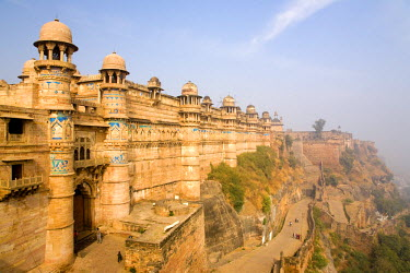 HMS0443289 India, Madhya Pradesh State, Gwalior, the fort