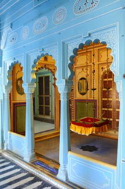 HMS0542555 India, Rajasthan State, Udaipur, City Palace, Bhim Vilas
