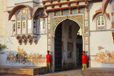 HMS0542601 India, Rajasthan State, Rohet, Rohet Garh Hotel