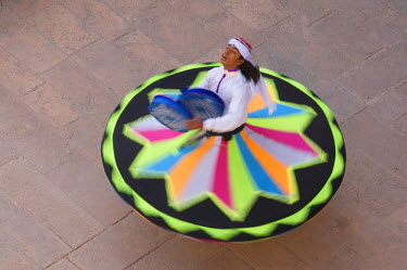 HMS0813613 India, Rajasthan state, Jodhpur, Mehrangarh Fort, sufi festival