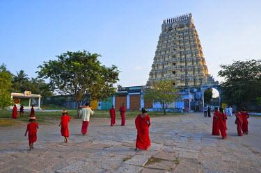 HMS0818138 India, Tamil Nadu State, Kanchipuram, Ekambaranathar temple (or Ekambareswarar) dedicated to Shiva