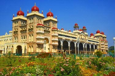 HMS0870855 India, Karnataka state, Mysore, Maharaja palace
