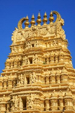 HMS0870869 India, Karnataka state, Mysore, Maharaja palace, Varahaswami temple