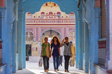 HMS1675042 India, Rajasthan state, Shekhawati, Jhunjhunu, the Hindu temple of Rani Sati Mandir