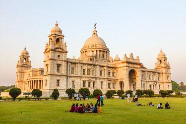 HMS1972511 India, West Bengal, Calcutta (Kolkata), Victoria memorial