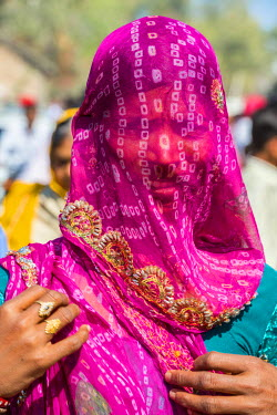 HMS2189907 India, Rajasthan state, Ranakpur, local farmers fair