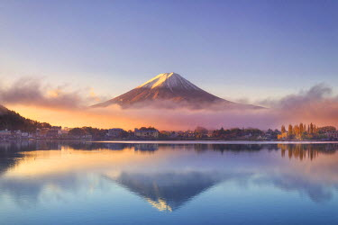 JP03584 Japan, Fuji - Hakone - Izu National Park, Mt Fuji and Kawaguchi Ko Lake