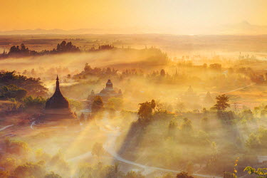 BM01488 Myanmar (Burma), Rakhine State, Mrauk U Archaeological Sitesunr