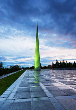 ARM0090 Eurasia, Caucasus region, Armenia, Yerevan, genocide memorial