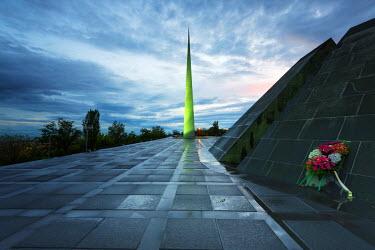 ARM0091 Eurasia, Caucasus region, Armenia, Yerevan, genocide memorial