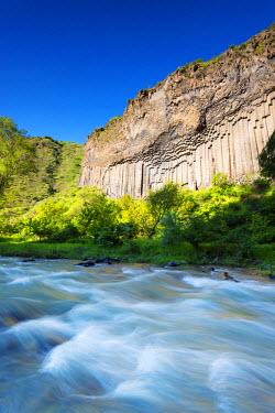 ARM0197 Eurasia, Caucasus region, Armenia, Kotayk province, Garni, Symphony of Stones basalt columns, Unesco World Heritage Site
