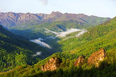 AZE0030 Eurasia, Caucasus region, Nagorno-Karabakh, independent Armenian enclave officially within Azerbaijan