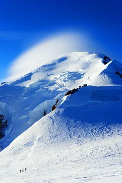 FRA8654 Europe, France, Haute Savoie, Rhone Alps, Chamonix, Mont Blanc (4810m)