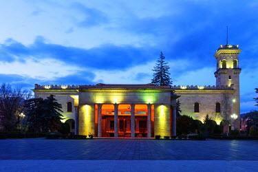 GEO0148 Eurasia, Caucasus region, Georgia, Shida Kartli, Gori, Museum of Joseph Stalin, Gori is birth place of Joseph Stalin