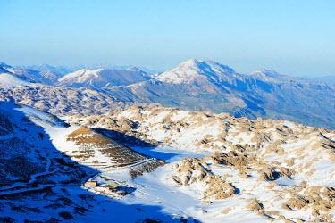 TUR0699 Turkey, Eastern Anatolia, scenery near Nemrut Dagi (Mount Nemrut), UNESCO site