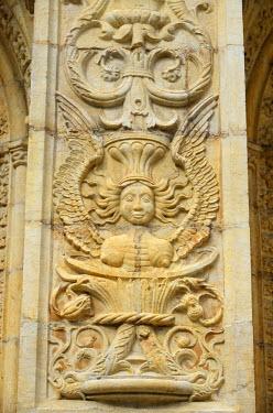 POR8270AW The Cloisters of the Jeronimos Monastery (Mosteiro dos Jeronimos), a UNESCO World Heritage Site. Lisbon, Portugal
