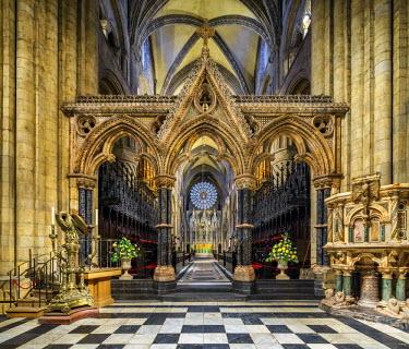 ENG12539AW Europe, United Kingdom, England, County Durham, Durham, Durham Cathedral
