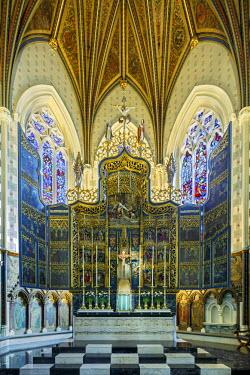 ENG12555AW Europe, United Kingdom, England, Lancashire, Lancaster, Lancaster Cathedral