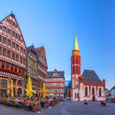 DE07014 Germany, Hessen, Frankfurt Am Main, Altstadt (Old Town), Romerberg