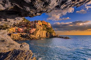 CLKCL19497 Manarola, Cinque Terre, Liguria, Italy