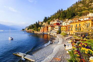 CLKFV21102 Italy, Lombardy, Como district. Como Lake, Varenna.