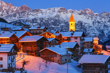 CLKMG19235 Village of Sappade, municipality of Falcade, Biois valley, Dolomites, Veneto, Italy
