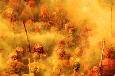 CLKAD10473 Holi Festival, Nandgaon, India