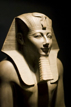 HMS0305177 Egypt, Upper Egypt, Nile Valley, Luxor, Archaeological Museum of Luxor, Thutmosis III statue